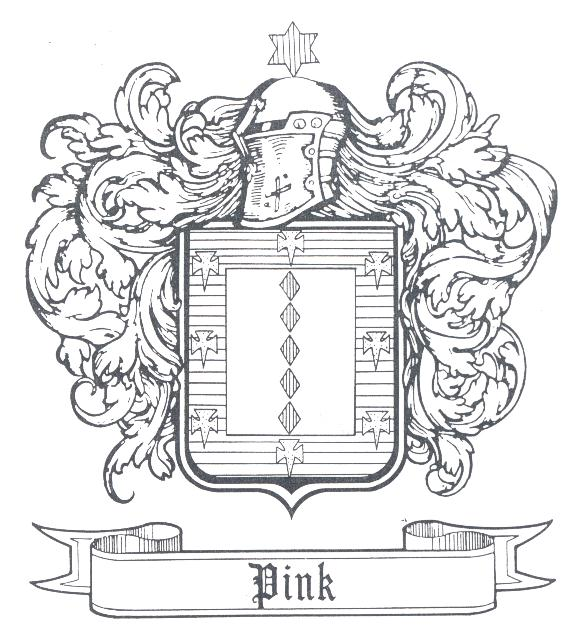 The Pink Coat of Arms